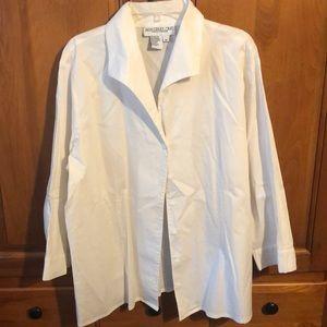 White button up blouse/shirt